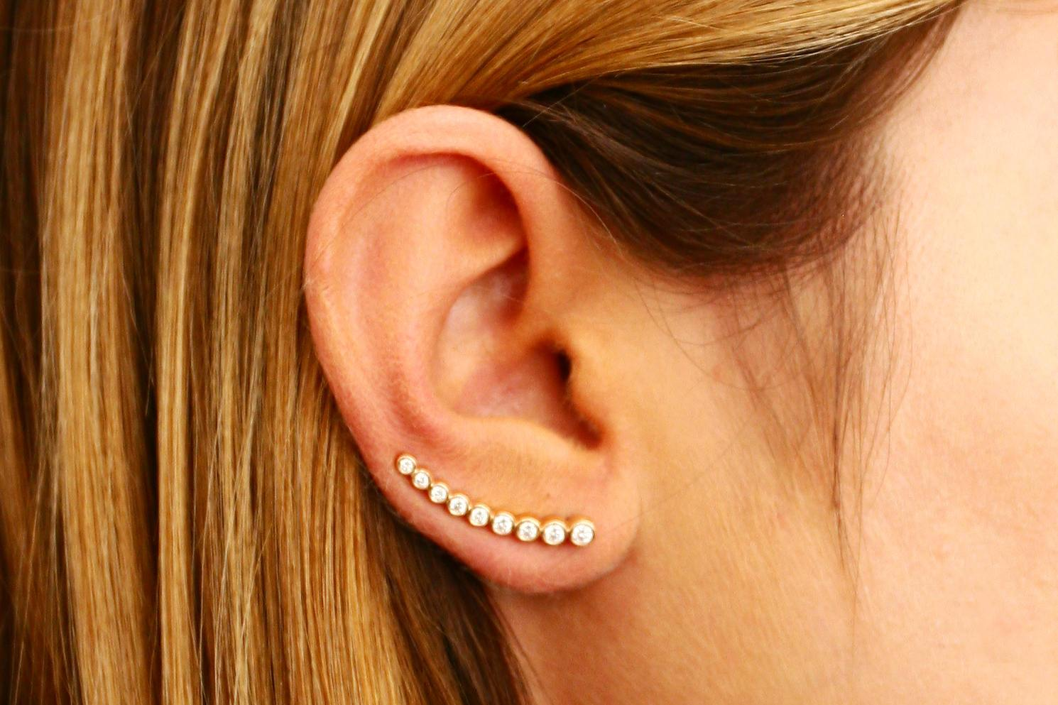 Everything to Know About Ear Climber Earrings